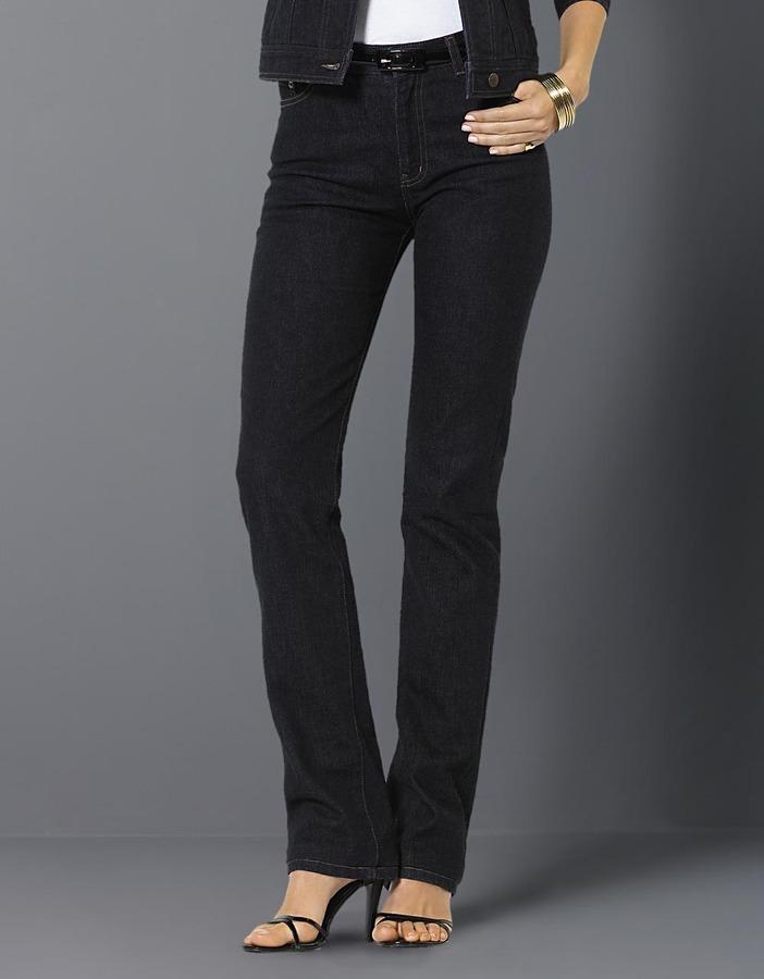 Lauren Ralph Lauren Plus-Size Classic Straight-Leg Jeans