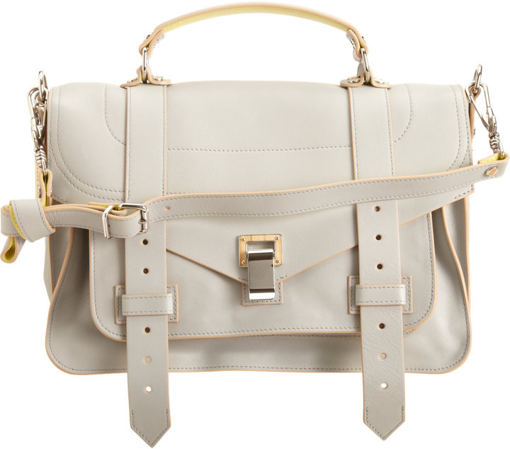 Proenza Schouler PS1 Medium Double-Sided Leather