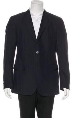 Etro Linen & Wool-Blend Silk-Lined Blazer