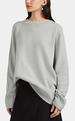 The Row Women's Sibel Wool-Cashmere Crewneck Sweater - Seafoam