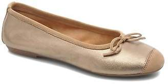 Coco et abricot Women's Belline Ballet Pumps In Gold - Size Uk 3.5 / Eu 36