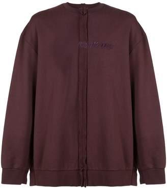 Yang Li exposed seam sweater