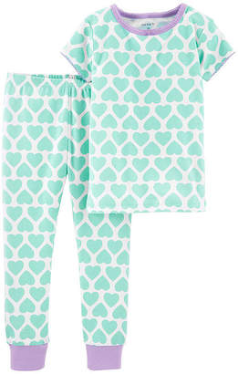 Carter's 2-pc. Pant Pajama Set Baby Girls