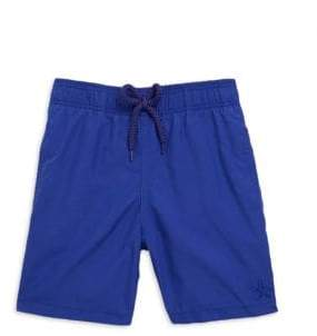 Vilebrequin Little Boy's& Boy's Starfish Swim Trunks - Blue Orchid - Size 10