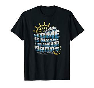 HOME IS WHERE THE ANCHOR DROPS BUHAY MARINO T-shirt