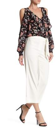 VERONICA BEARD Imperial Cropped Tie Waist Pant $395 thestylecure.com