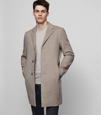 Reiss Gable Wool-Blend Overcoat