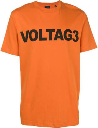 Diesel Voltag3 print T-shirt