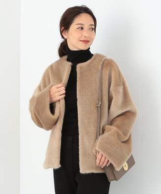【30%OFF】ビームス アウトレット★Demi Luxe BEAMS / エコファーブルゾンレディースBEIGE38【BEAMS OUTLET】【セール開催中】