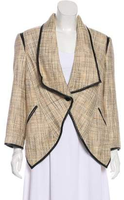 Yigal Azrouel Trim-Accented Casual Jacket