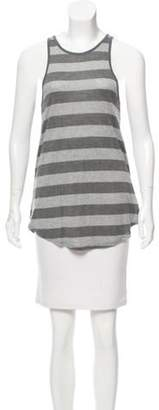 The Lady & The Sailor Casual Sleeveless Top Grey The Lady & The Sailor Casual Sleeveless Top