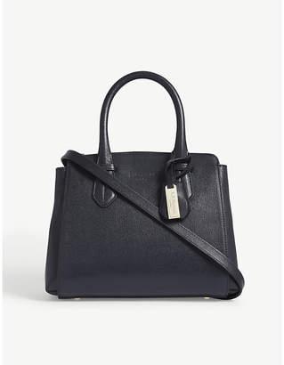 LK Bennett Cassandra saffiano leather tote