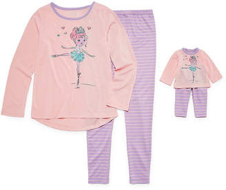 Asstd National Brand Doll Gown & 2pc.Pajama Set Girls