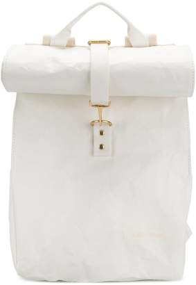 Eastpak foldover top backpack