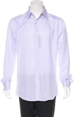 Dolce & Gabbana Woven Dress Shirt w/ Tags