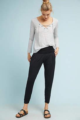 Bordeaux Lucy Foldover Pants