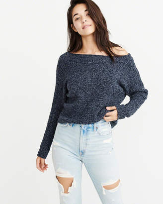Abercrombie & Fitch Cable Dolman Sweater