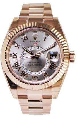 Rolex Ref 326935 Sky Dweller Rose Gold Watch 2015 $48,850 thestylecure.com