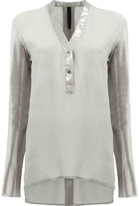 Ilaria Nistri V-neck button blouse