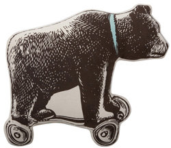 Thomaspaul - Antique Teddy Bear Pillow