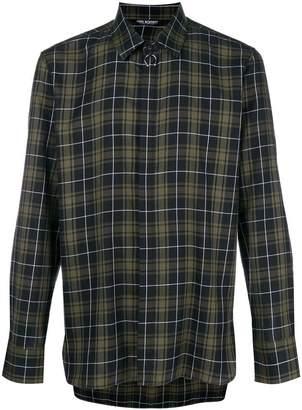 Neil Barrett checkered shirt