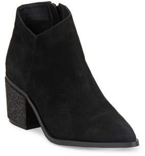 Kenneth Cole Reaction Cue The Music Leather Booties
