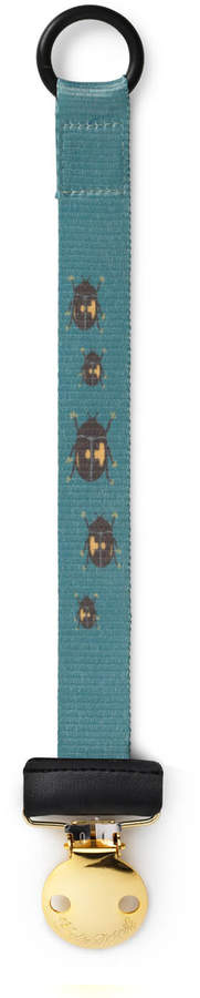Elodie Details Tiny Beetle Print Pacifier Clip