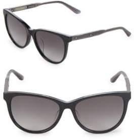 Bottega Veneta 55MM Cat Eye Sunglasses