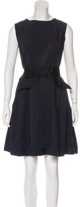 Lanvin Sleeveless Pleated Dress