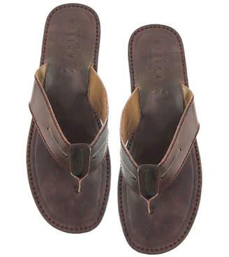 718eff731bd5 Mens Leather Flip Flops - ShopStyle UK
