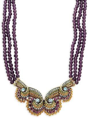 Heidi Daus Women's Beaded Statement Necklace