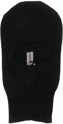 Rick Owens knitted face mask