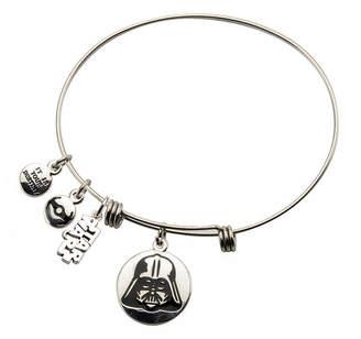 Star Wars FINE JEWELRY Stainless Steel Darth Vader Charm Bracelet