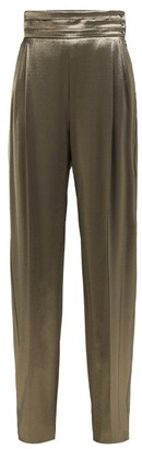 Max Mara Albina Trousers - Womens - Gold