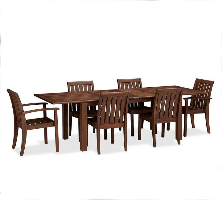 Chatham Rectangular Extending Dining Table & Chair Set - Honey