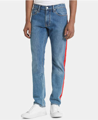 Calvin Klein Jeans Men Slim-Fit Stretch Taped Jeans