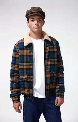 TCSS Pixies Sherpa Plaid Flannel Jacket