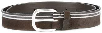 Orciani striped belt