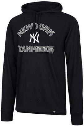 '47 Men's New York Yankees Prop Arch Long Sleeve Hooded T-Shirt