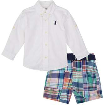 Polo Ralph Lauren Shirt and Shorts Two Piece Set
