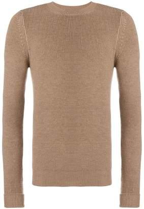 Al Duca D'Aosta 1902 rib knit fitted sweater