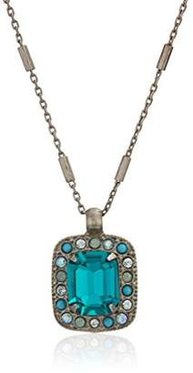 Sorrelli Happy Birthday Opulent Octagon Pendant Necklace