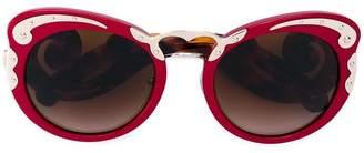 Prada embellished sounded sunglasses