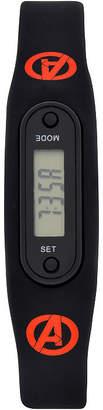 Asstd National Brand Avengers Boys Pedometer Tracker Strap Watch-Avg4513jc