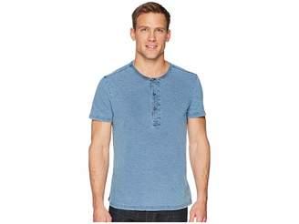 Calvin Klein Jeans True Indigo Henley Men's Clothing