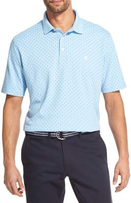 Izod Classic-Fit Printed Cotton Blend Polo