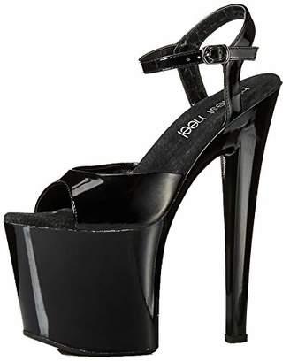 The Highest Heel Women's Fantasy-51 6 Inch Platform Sandal