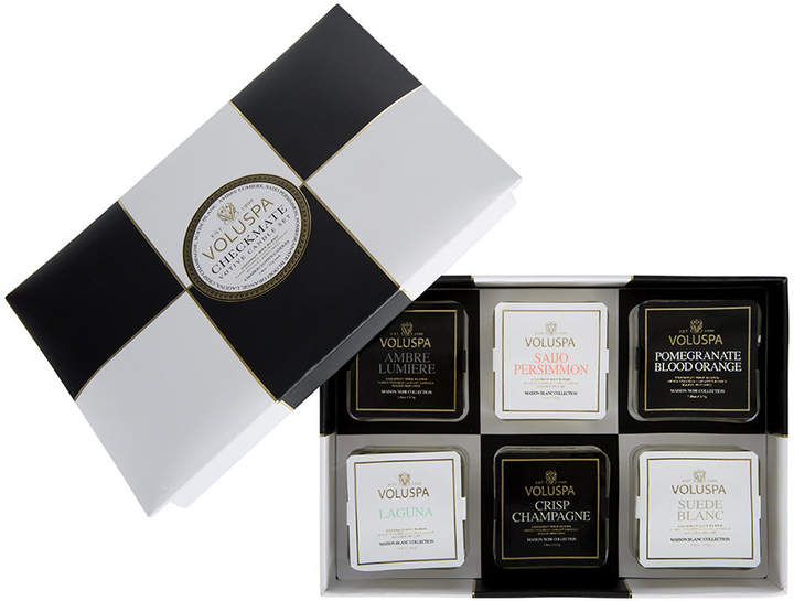 Maison Checkmate Votive Candle Gift Set