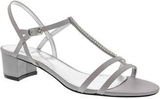 I. MILLER I. Miller Giovina T-Strap Satin Sandals $23.99 thestylecure.com