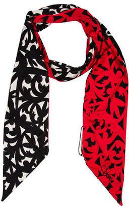 Diane von Furstenberg Silk Printed Scarf $65 thestylecure.com
